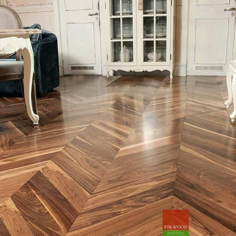 Engineered Hardwood Flooring Pattern Fitting Chevron Engineered