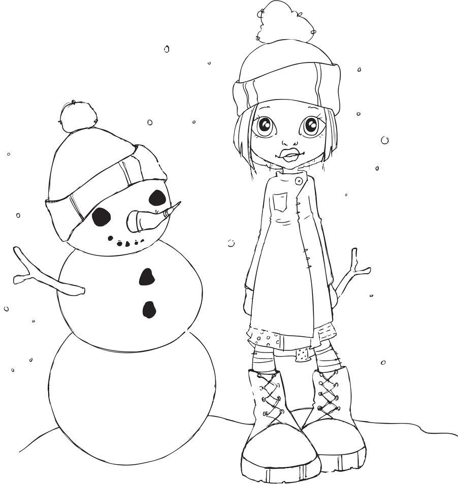 Cute Coloring Pages, Digi Stamps, Coloring