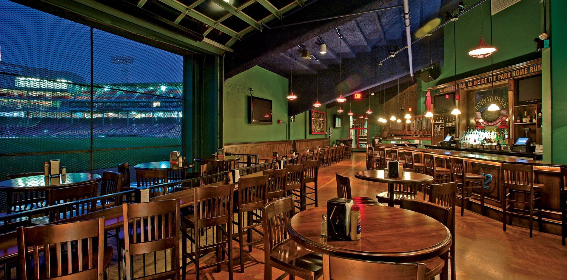 Red Sox At Bleacher Bar Bleachers Bar Boston Massachusetts Restaurants Cool Bars