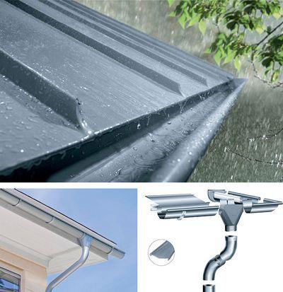 Zinc Gutters Longlasting And Virtually Maintenance Free Zinc Roof Gutters Zinc Cladding
