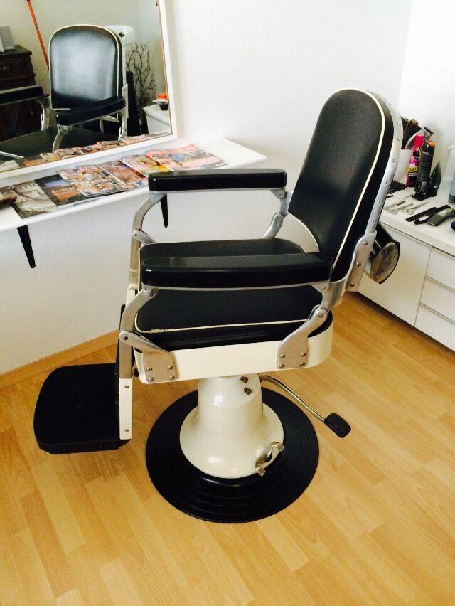 Friseur Stuhl Nike Jahrgang 1950 1960 Barber Chairs
