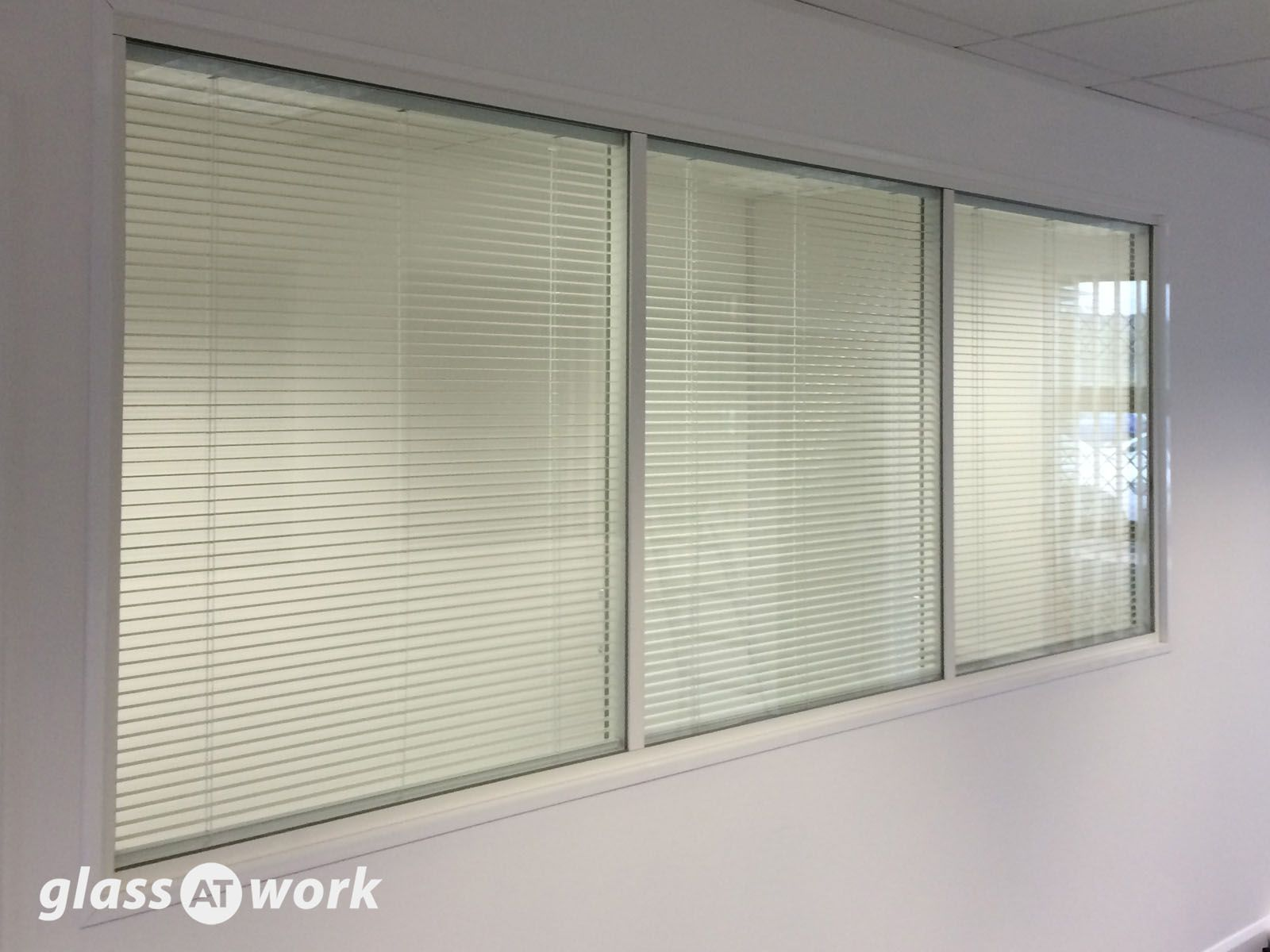 office window blinds. Glass Partitioning At Vish Construction (Oxford): Double Glazed Office Windows Window Blinds