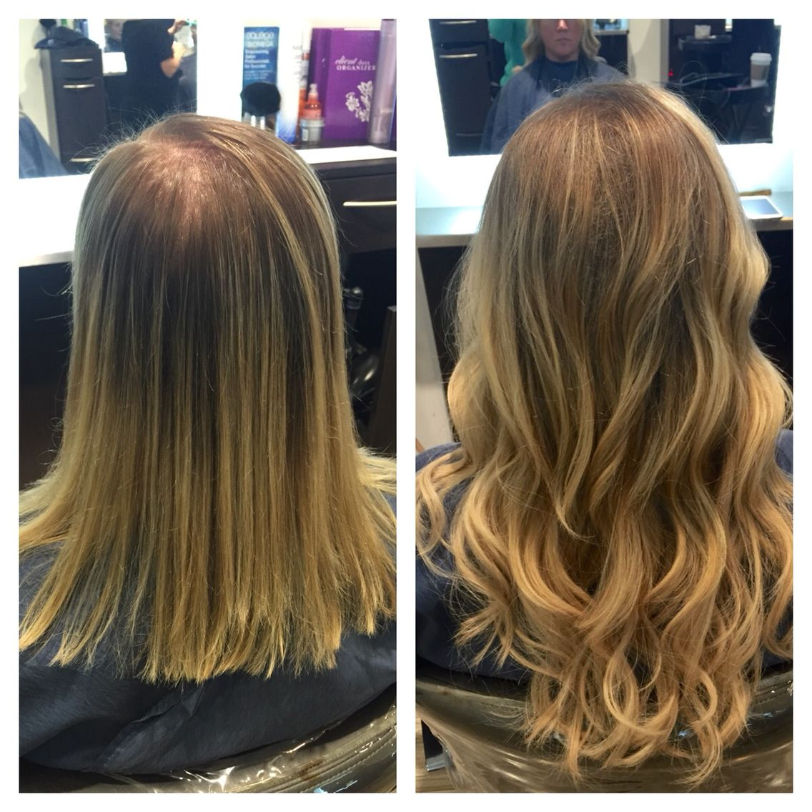 Great Lengths Extensions Before And After Human Hair Extensions Long Hair Extensions Beautiful Long Hair