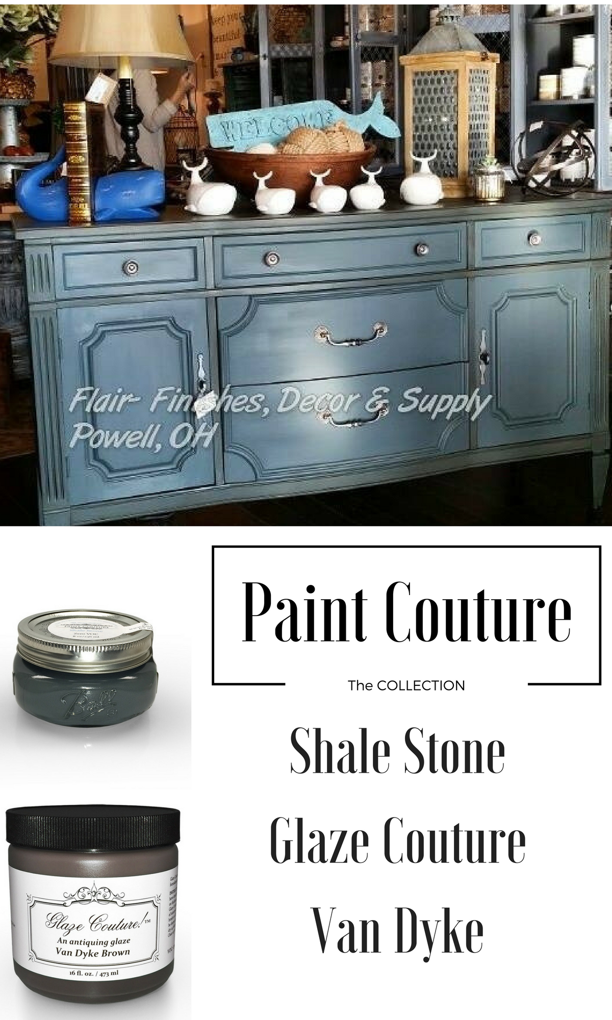 Paint Couture Is A Low Voc Water Based Acrylic Now Available In 27 Colors It Self Priming Décor Furniture And Cabinet