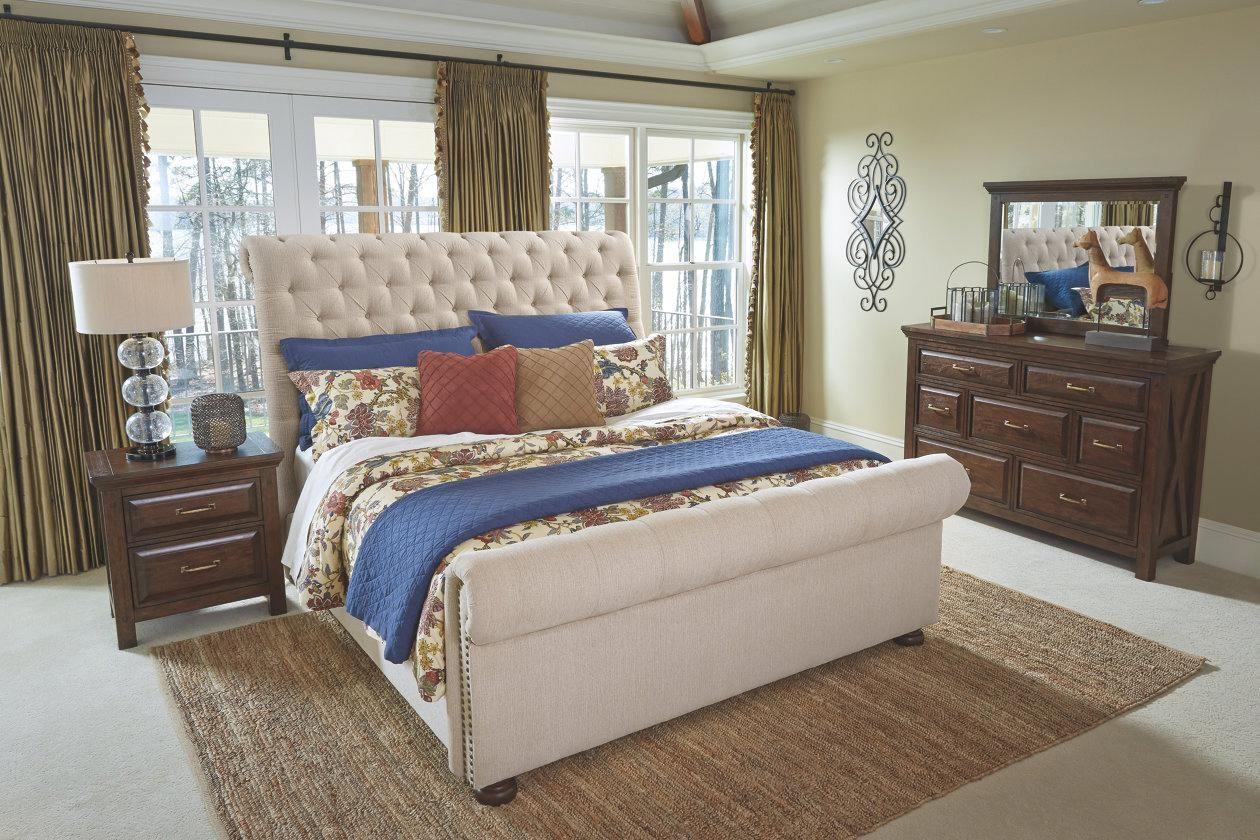 Windville Nightstand Dark Brown Bedroomlayout In 2020 Home