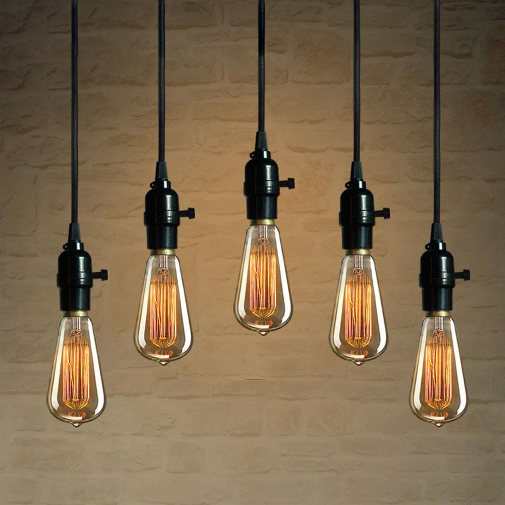 Hanging Light Bulb Fixture Image collections - Home Fixtures ...