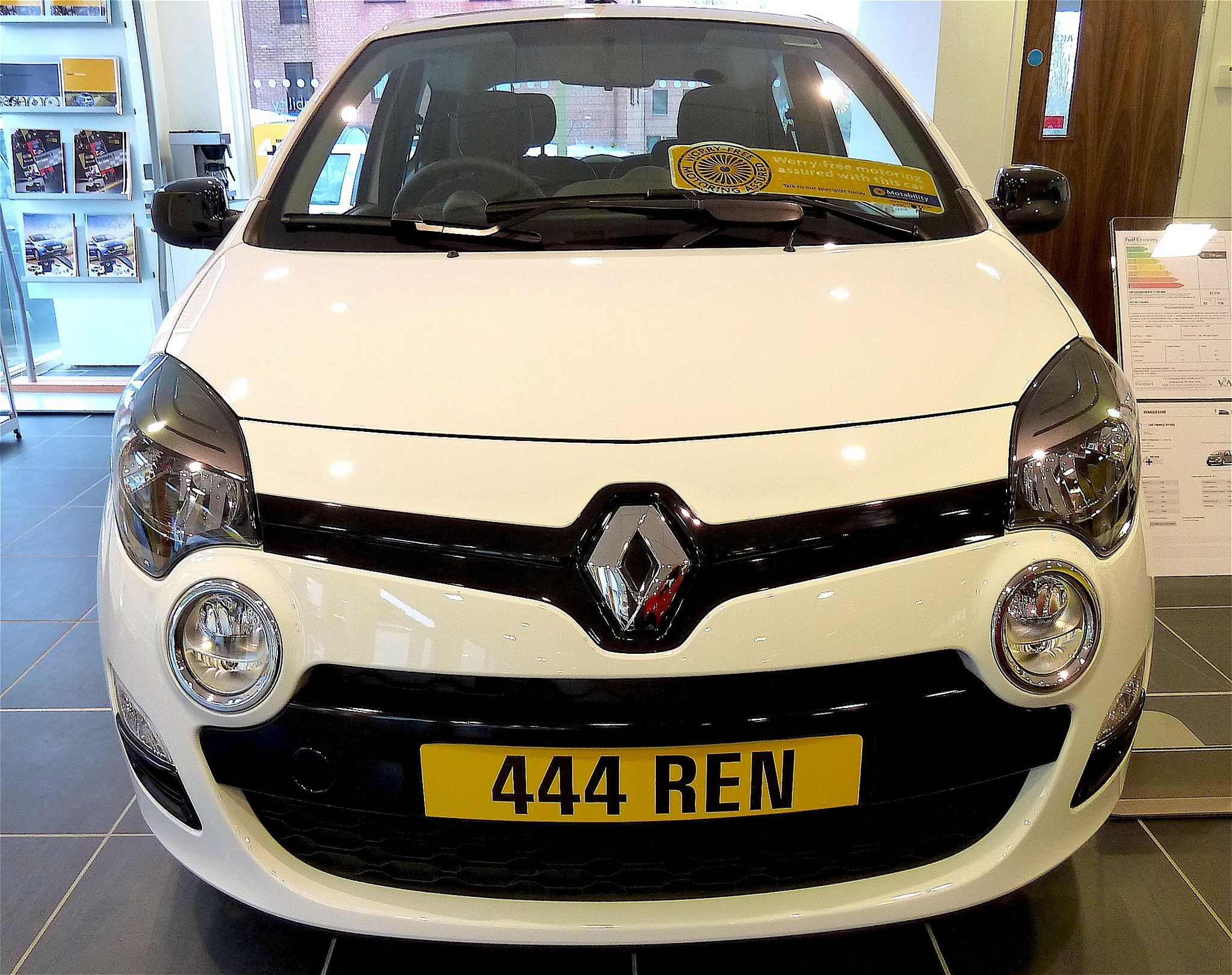 2012 Renault Twingo A New Renault Twingo Seen In The Yeovil
