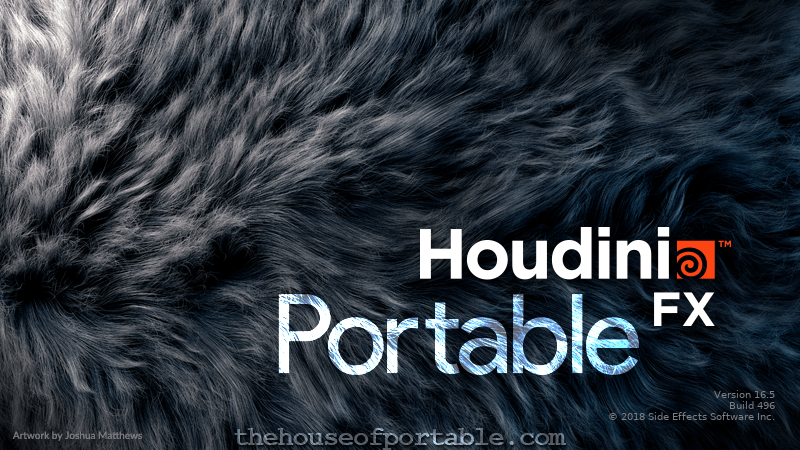 Free Download of latest Houdini FX Portable: no installation and no