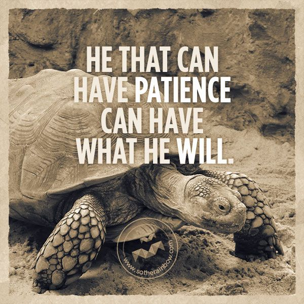 He That Can Have Patience Can Have What He Will Benjamin Franklin