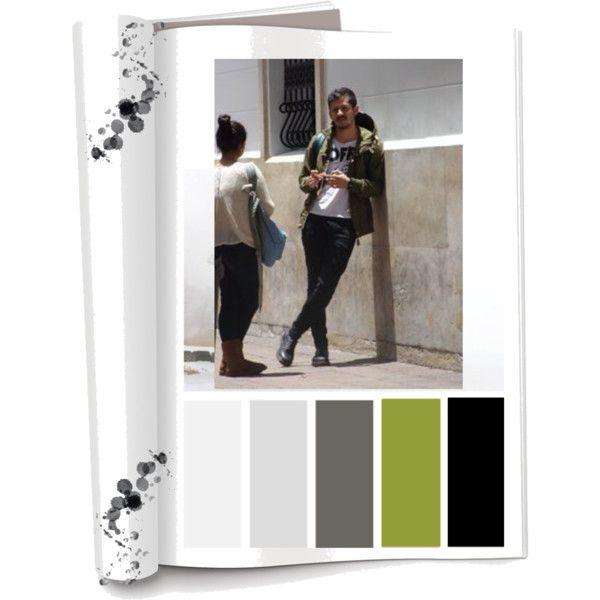 Paleta de color colores fr os negro gris verde oliva y for Paleta colores gris