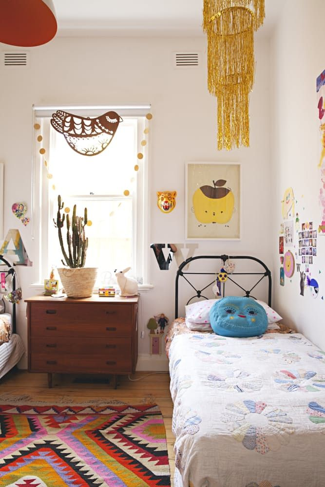 Madeleine Karl S Colorful And Creative Melbourne Home Melbourne House Home Decor Bedroom Home Family