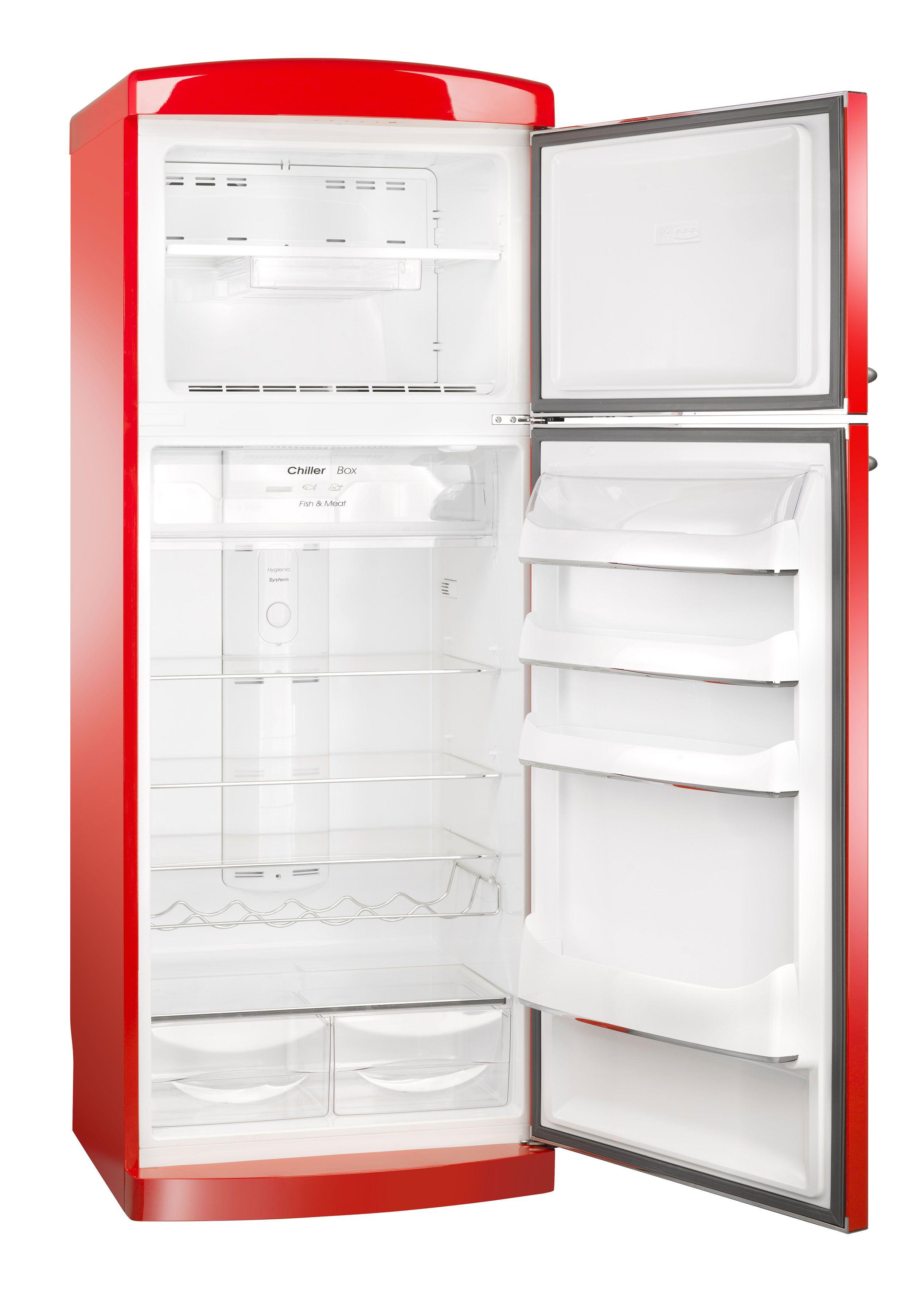 In arrivo il nuovo frigo doppia porta Retrò 70cm no frost Rosso ...