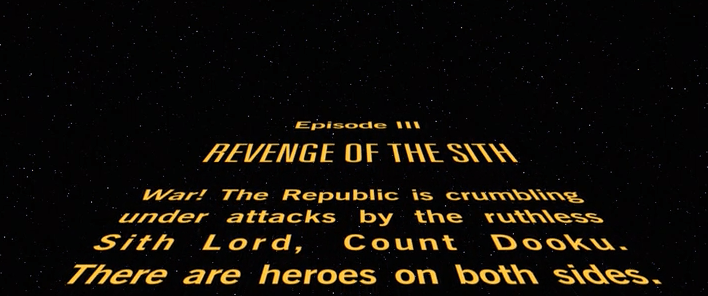 Best Opening Sequence In Star Wars Revenge Of The Sith Revenge Sith Star Wars