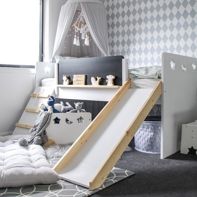 The Galaxy Kids Bed With Images Kid Beds Kids Bed Frames Kid