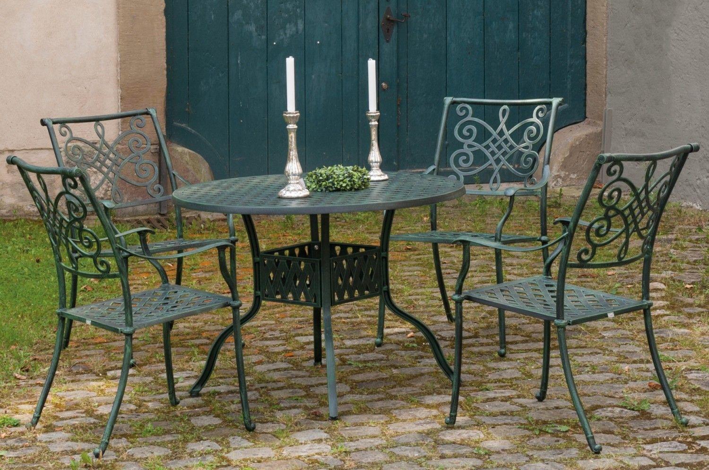 Inko Nexus Aluguss Sessel grün in Gruppe Eine wunderschöne Gruppe ...