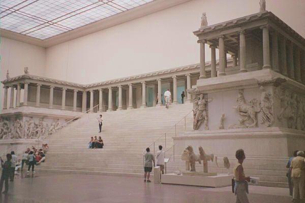 Pergamon Altar Pergamon Museum Berlin Pergamon Pergamon Museum Ancient Greek Art