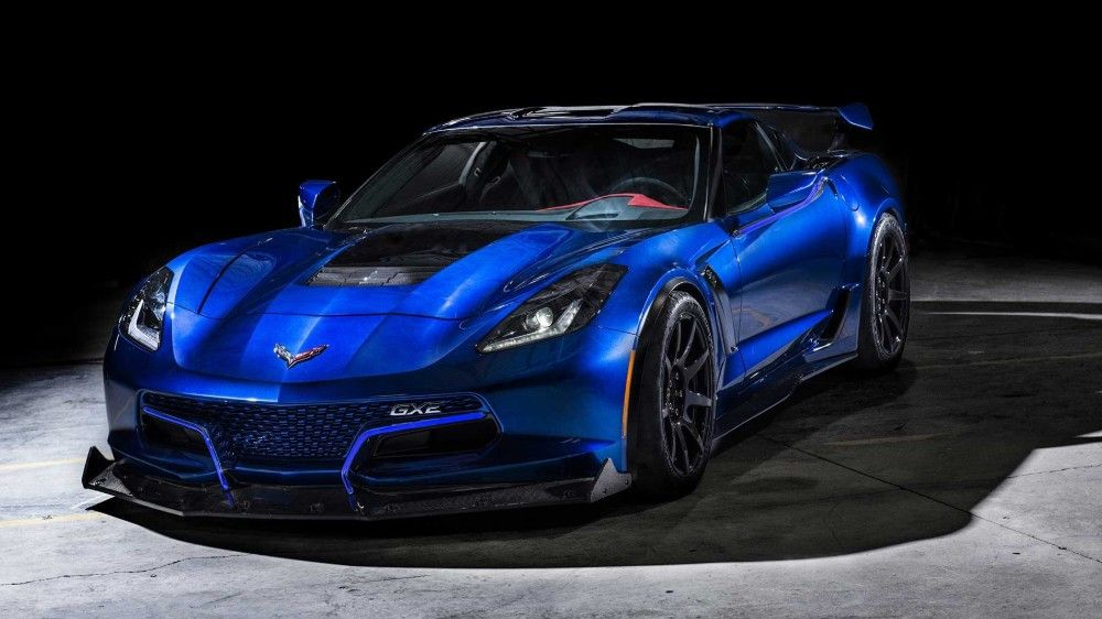 Genovation's Lightning Fast Electric Corvette Just Broke