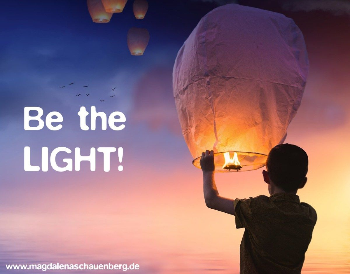 Be the LIGHT! Psychic chat