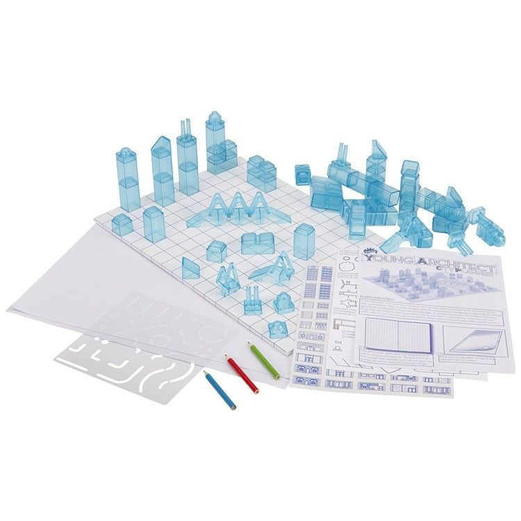 Young Architect 3D City Planner Design & Build Kit | Holiday