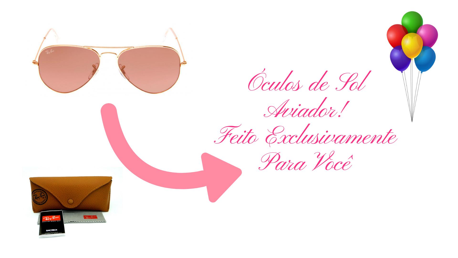 2 Óculos De Sol Estilo Aviador Feminino Masculino Promoção ... 7996f143ec