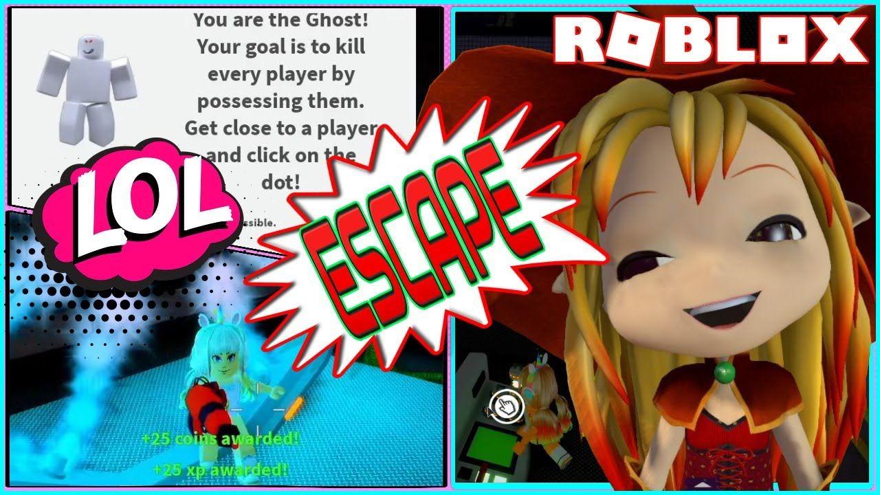 I'm a NOOB GHOST! Escape Chapter 1! Roblox Patient Zero