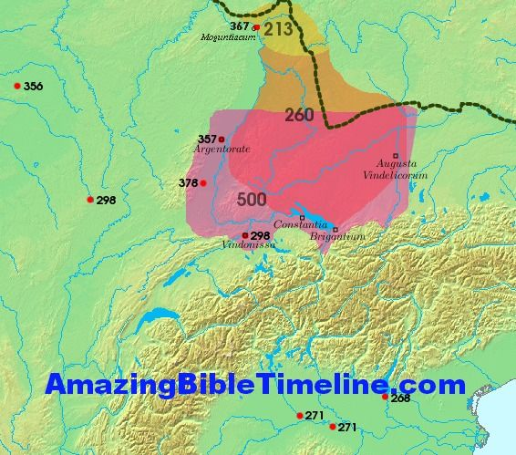 Who are the Alemanni and the Franks? Click here to find out:  http://amazingbibletimeline.com/blog/alemanni-and-franks/