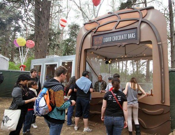 Guittard Chocolate Company's Liquid Chocolate Bars are heaven on earth