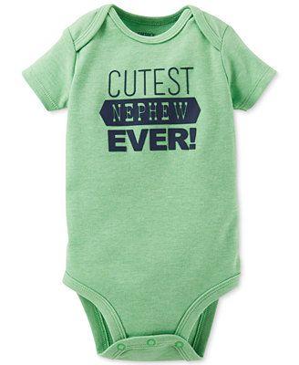 Carter's Baby Boys' Cutest Nephew Ever Bodysuit