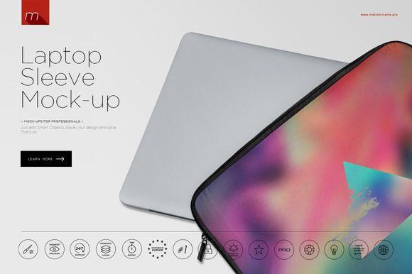 Download Laptop Sleeve Mock Up Laptop Sleeves Mocking Sleeves