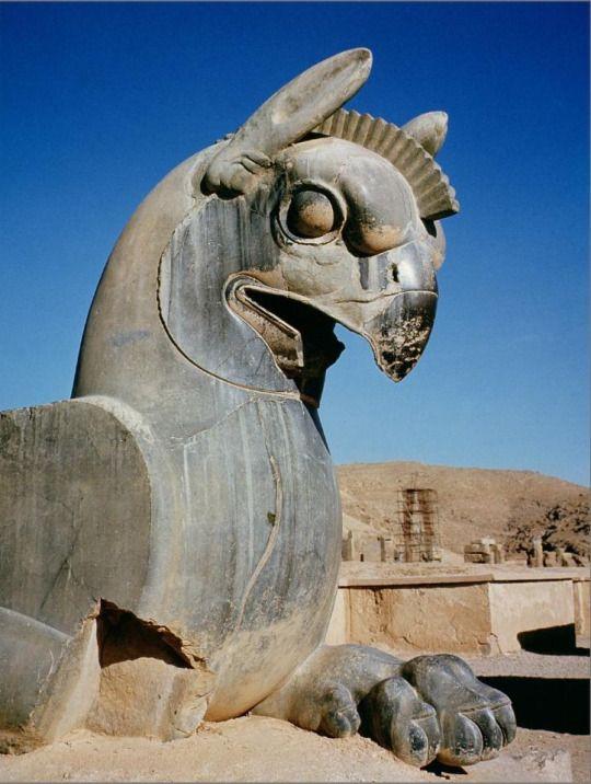Giant Griffin Persian C 516 465 Bc Postcard Zazzle Com In 2020 Ancient Persian Ancient Mesopotamia Ancient Persia