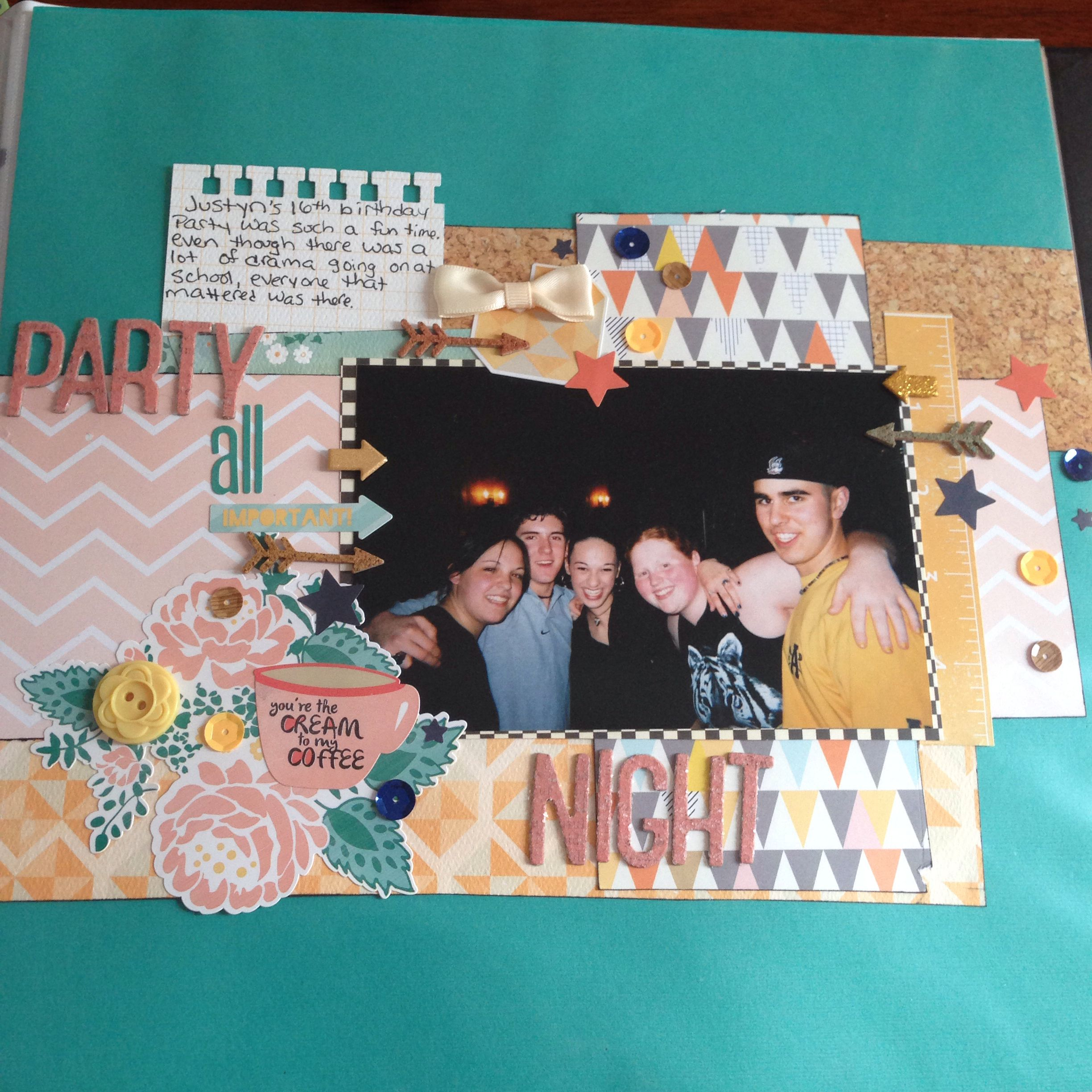 Using the August 2013 Scraptastic kit