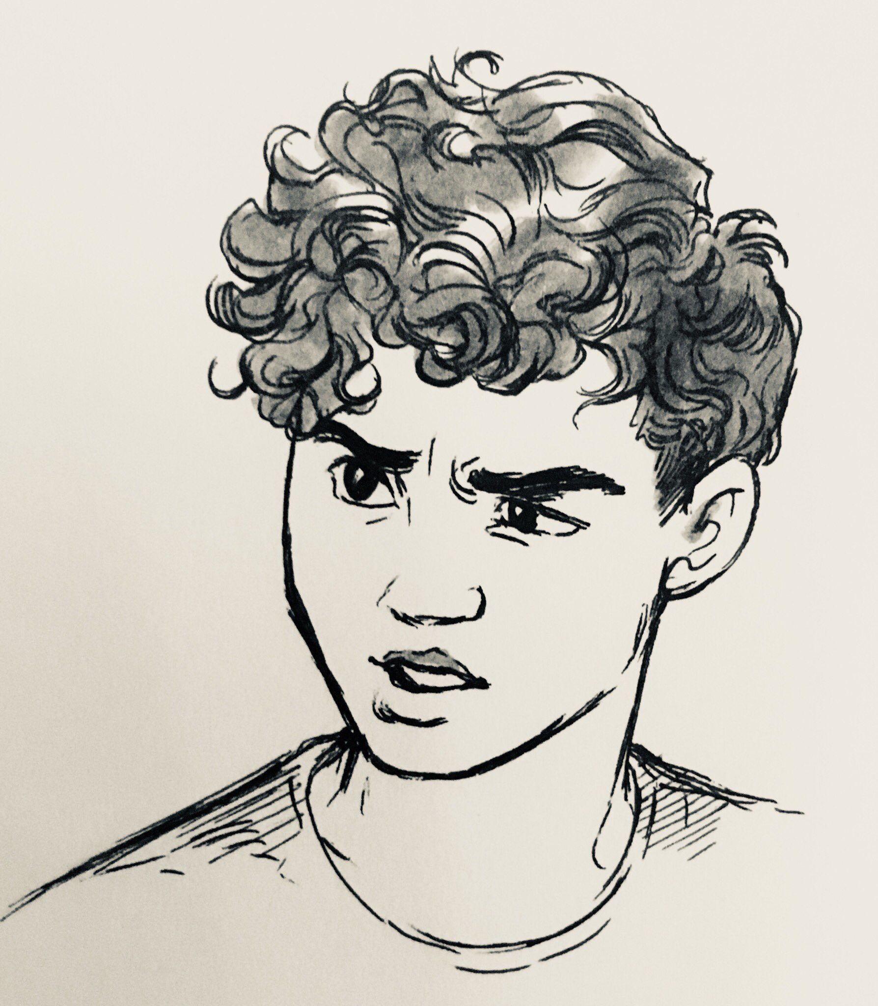 Pin By Alibaba On Ilustraciones Boy Hair Drawing Hair Illustration Boy Cartoon Drawing