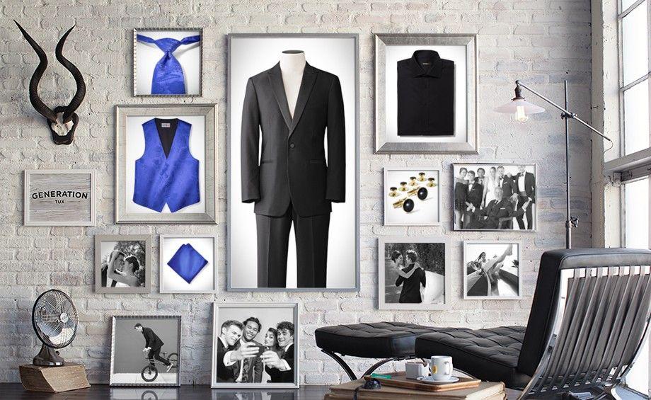 Build a Tuxedo Online - Create your Own Wedding Tuxedo | Generation Tux