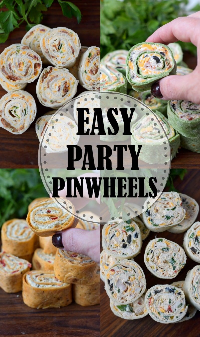 Photo of Party Pinwheels Appetizers Recipe- Butter Your Biscuit