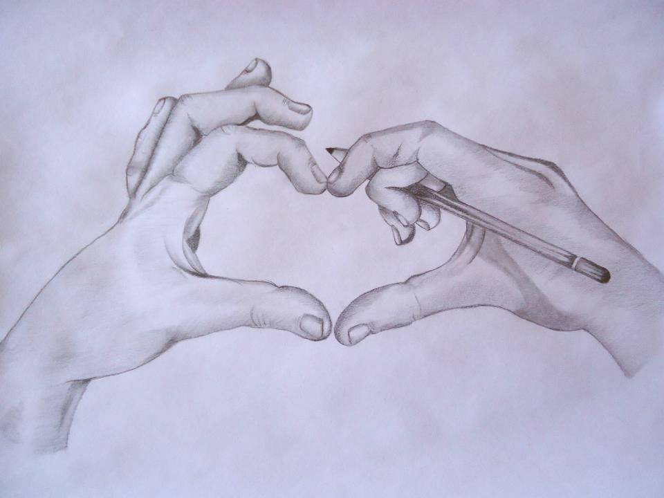 Dibujos De Amor A Lapiz - Buscar Con Google