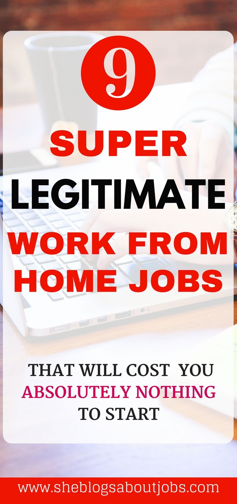 9 Legitimate Work From Home Jobs You NEED To Try | Online business ...