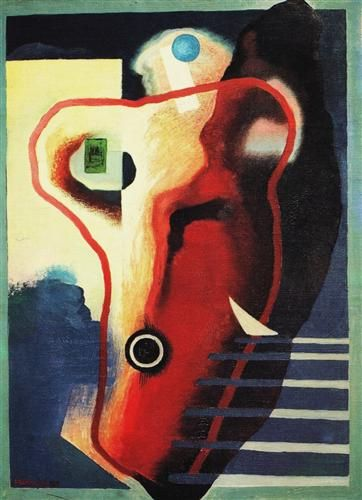 Organismo umano  - Enrico Prampolini  1929