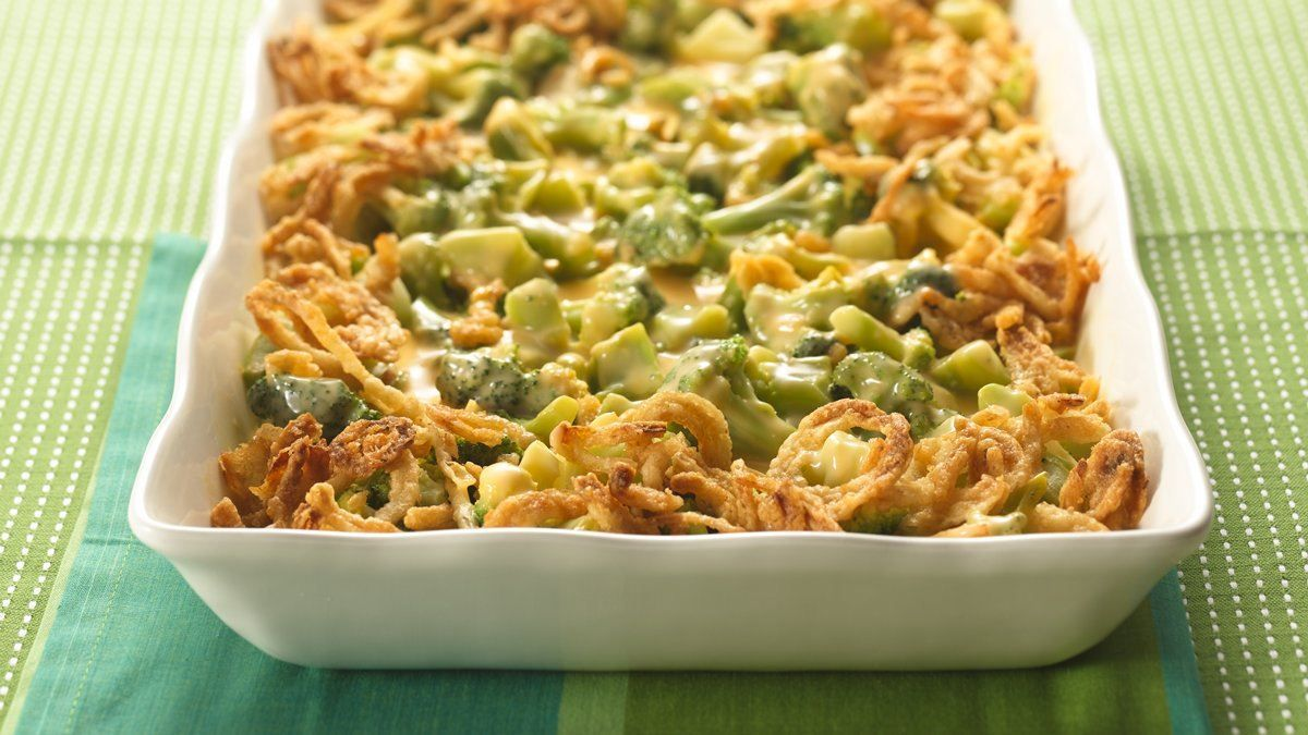 Broccoli Three Cheese Bake recipe and reviews - All it takes is five easy ingredients and 10 minutes of prep, and you'll have a delicious veggie casserole in the oven tempting your taste buds.