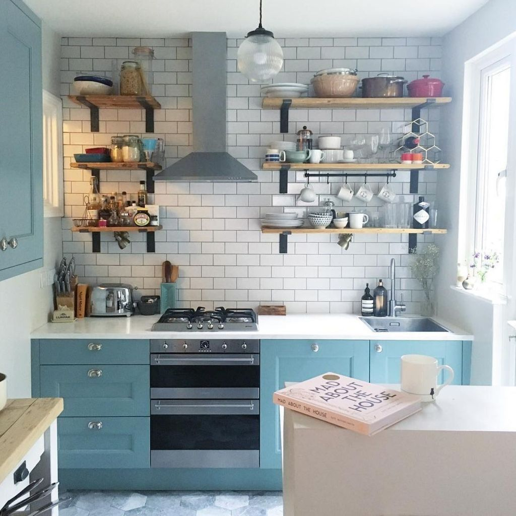 27 Simple Small Kitchen Ideas to Maximize Space [Trick & Tips #smallkitchendesigns