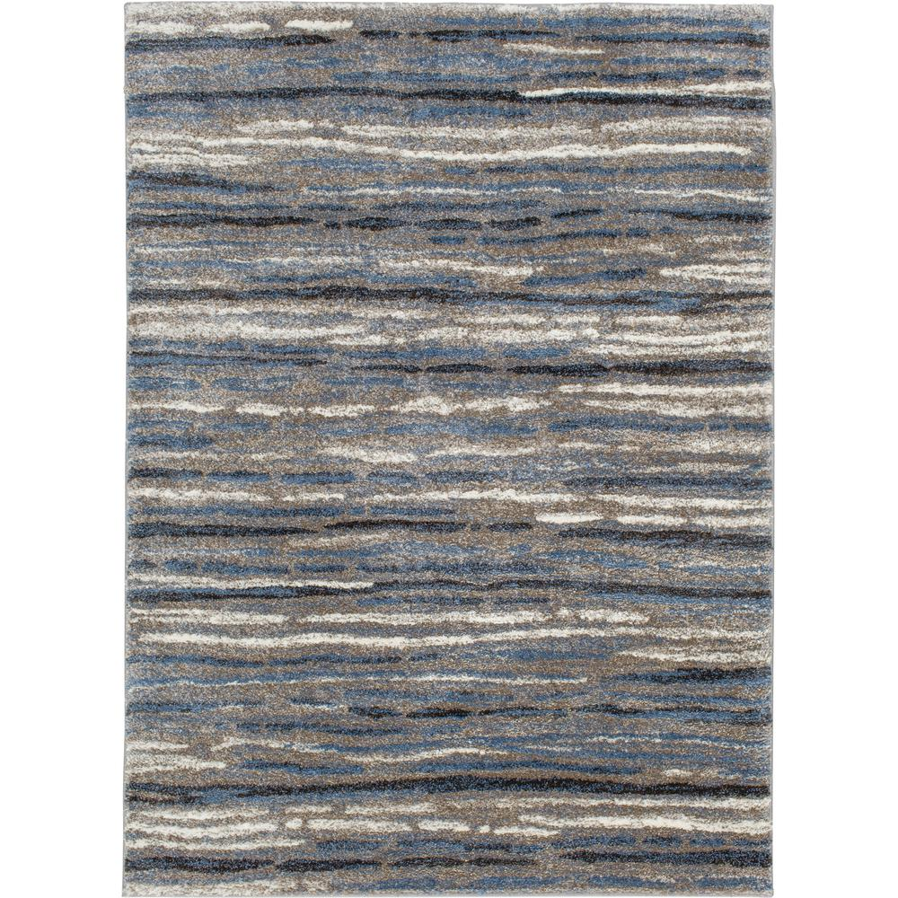 Home Decorators Collection Shoreline Blue Multi 8 Ft X 10 Ft Striped Area Rug 1203ad80hd 101 The Home Depot In 2020 Area Rugs Rugs Rugs On Carpet