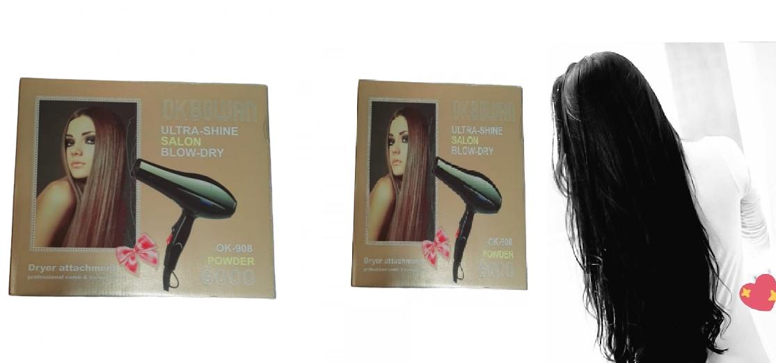 استشوار 6000 وات لفرد وتنعيم الشعر Hair Hair Straightener Beauty