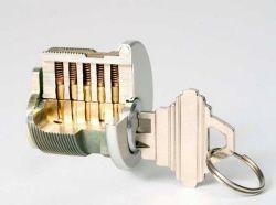Cutaway Fullcut Schlage Mortise Cylinder Lock Features Of This Cutaway Mortise Cylinder Lock Schlage Type Keyway For Right Cylinder Lock Cylinder Schlage