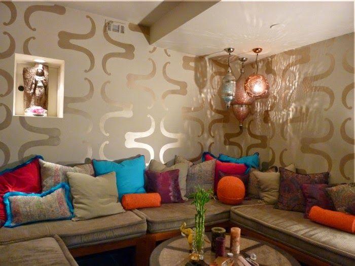16 salons marocain modernes et orientales marocain style pinterest salon marocain salon. Black Bedroom Furniture Sets. Home Design Ideas