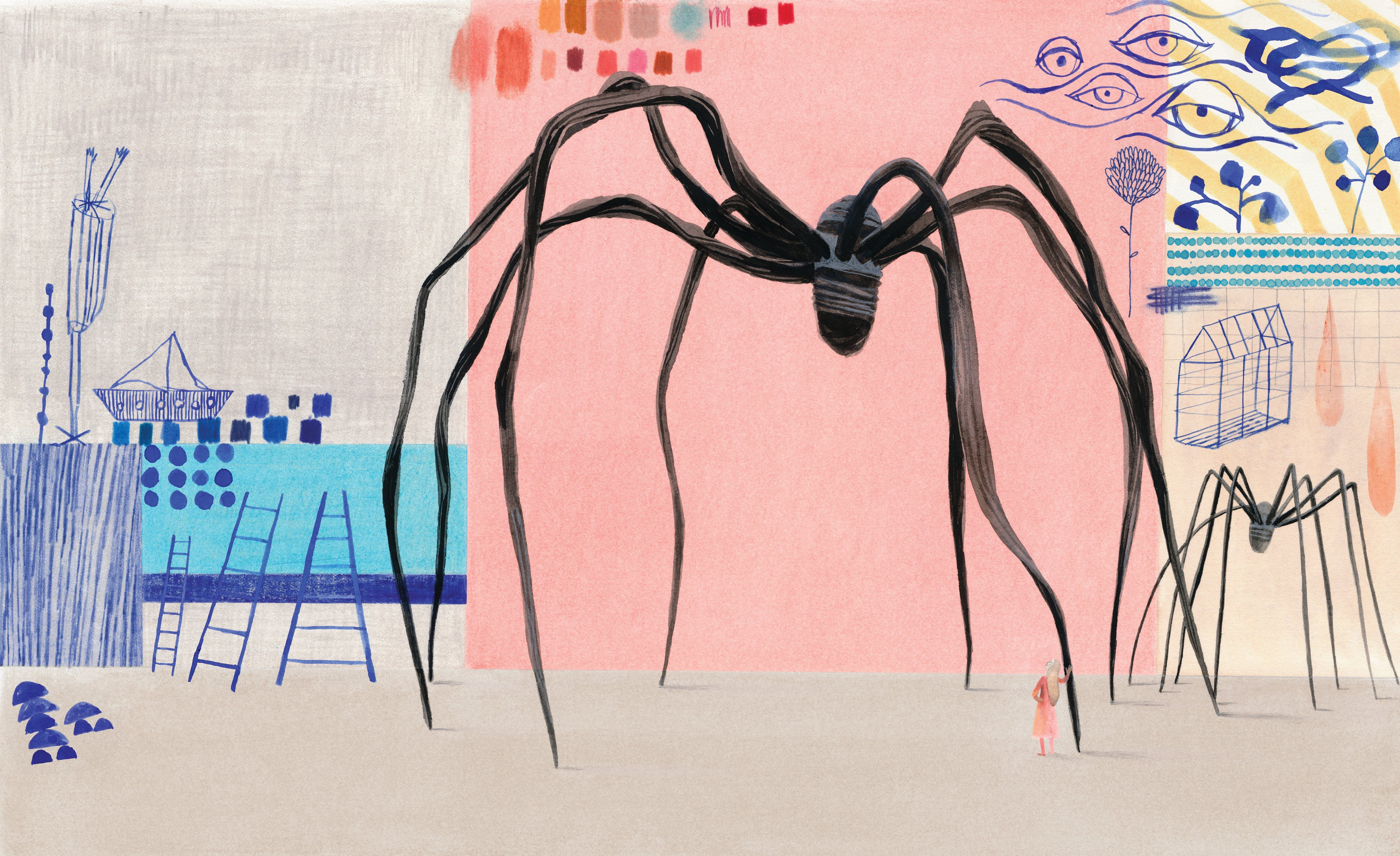 Cloth lullaby: the woven life of Louise Bourgeois – in pictures