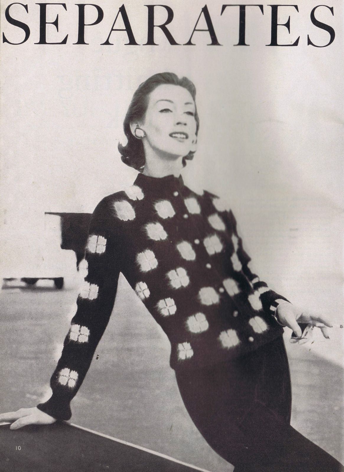 VINTAGE 50s VOGUE KNITTING PATTERNS CARDIGAN STOLE PULLOVER COATS ...