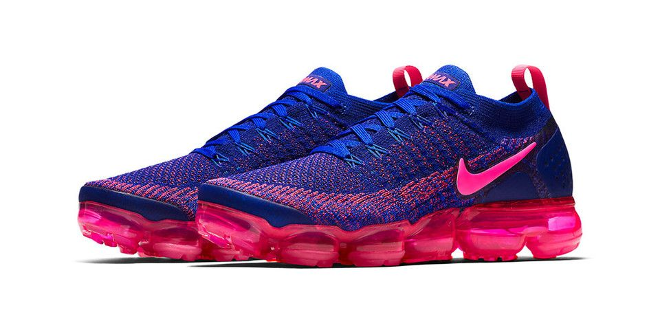 online store 7391b ab226 Neon Pink Pops on Nike's Air VaporMax Flyknit 2.0