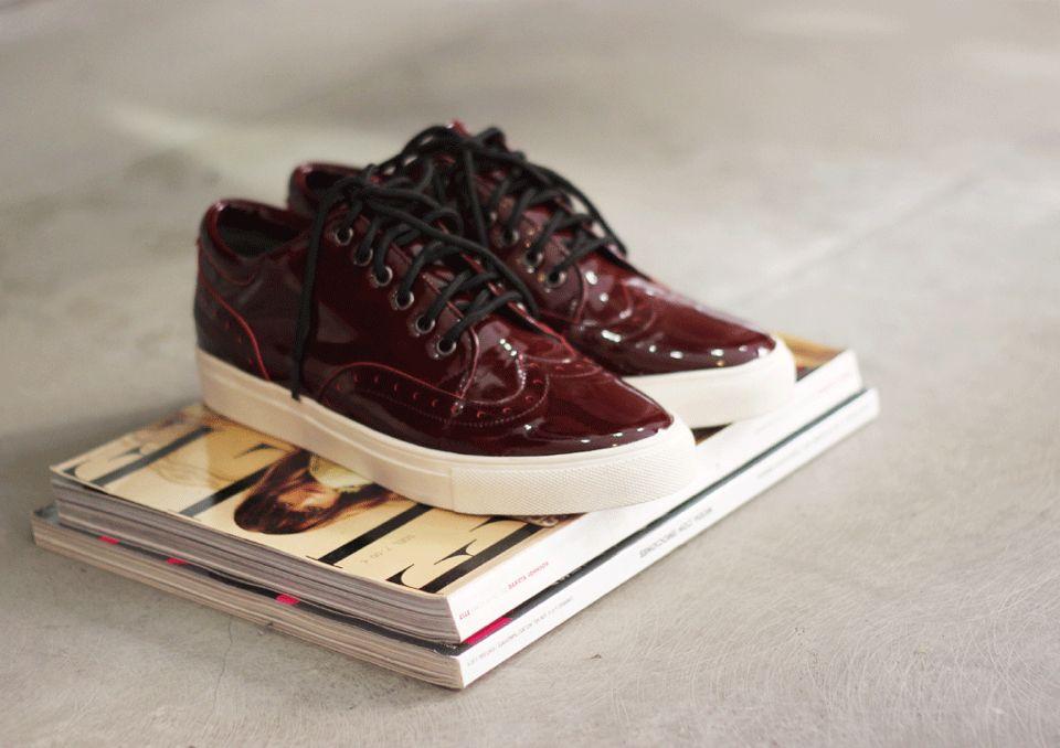 Burgundy blucher www.kaif.es #shoes #kaif #kaifstore
