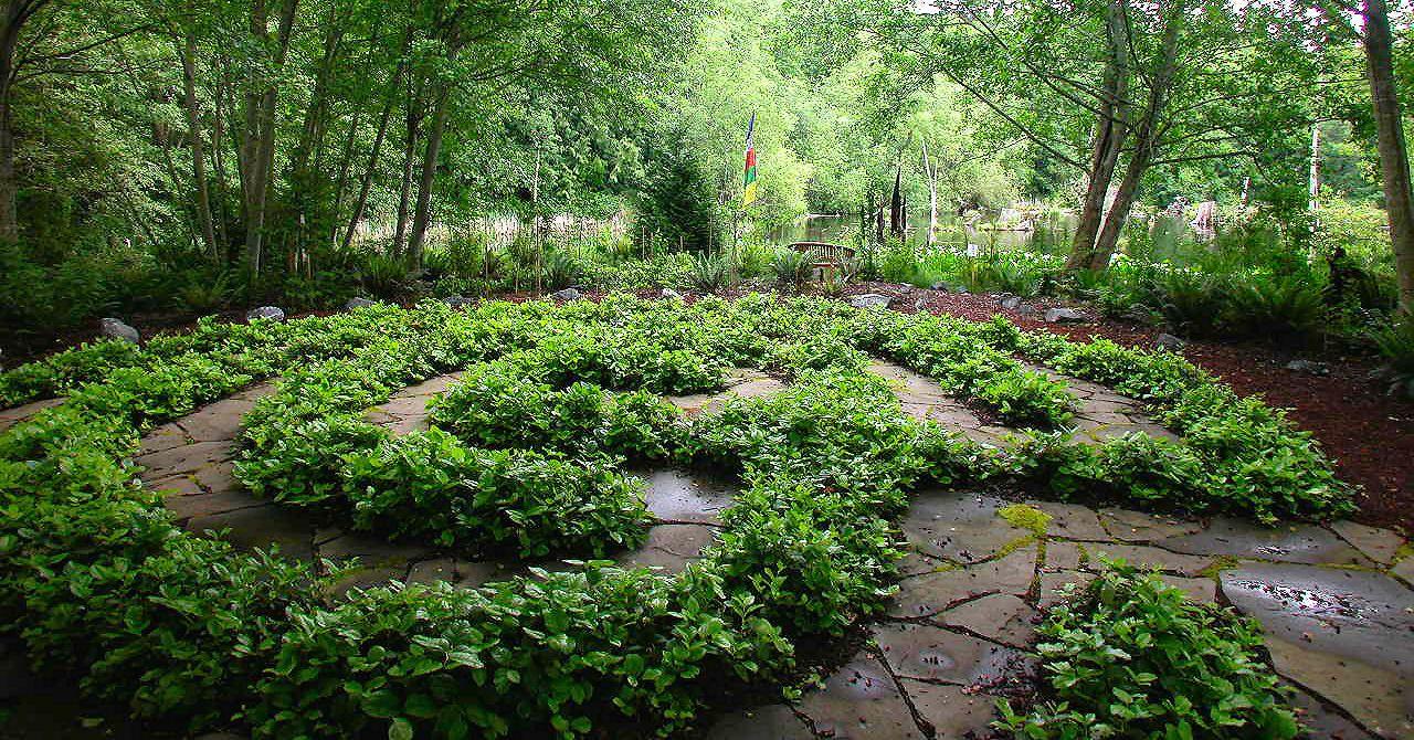 Earth Sanctuary labyrinth.