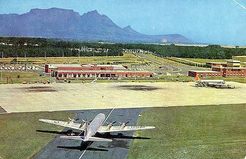 D F Malan Airport Cape Town 1966 Cape Town Johannesburg City South African Airways