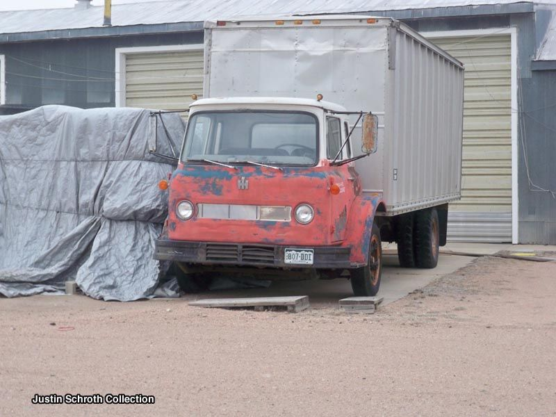 International Loadstar Cabover Box Truck In Akron Colorado 2011 International Truck Trucks Old Trucks